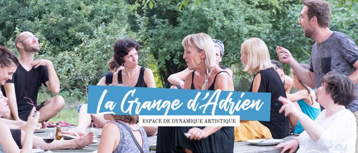 Nouveau site internet // La Grange d'Adrien
